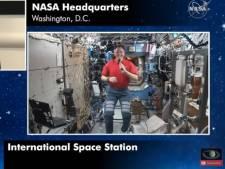 Brad Pitt a parlé apesanteur et corne des pieds avec un astronaute