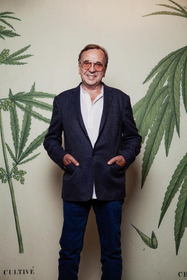 'Alcohol is verslavend en ongezond, marihuana is gezond' Beeld Mark van der Zouw