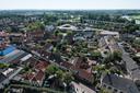 Zicht op Doesburg vanuit de Martinitoren. Ter illustratie.