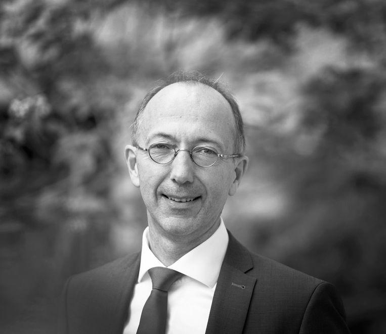 Muel Kaptein, hoogleraar bedrijfsethiek aan de RSM Erasmus Universiteit en partner bij KPMG. Beeld -