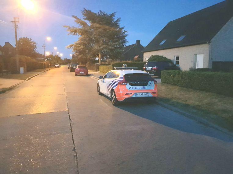 De politie was tot laat in de avond nog aanwezig.