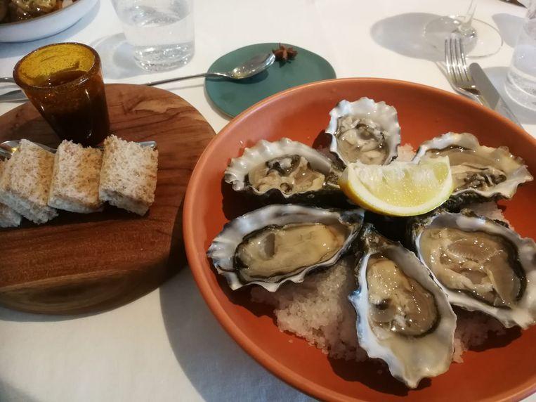 Le Cou Cou Bellegem: de oesters