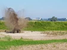 Mortiergranaat uit Elster tuin in Huissen tot ontploffing gebracht