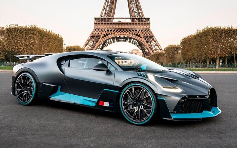De Bugatti Divo heeft een topsnelheid van 380 km/u