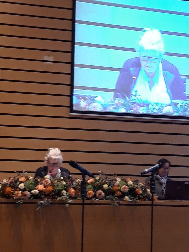 Linda Van den Eede maakte gisteren haar debuut als provincieraadsvoorzitter.
