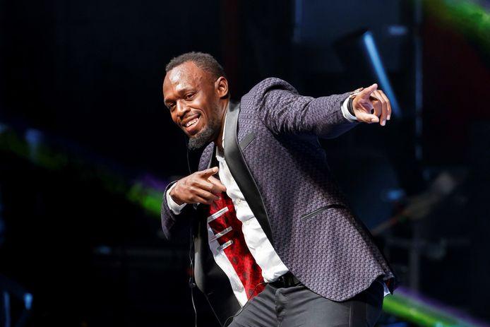 Usain Bolt op archiefbeeld.