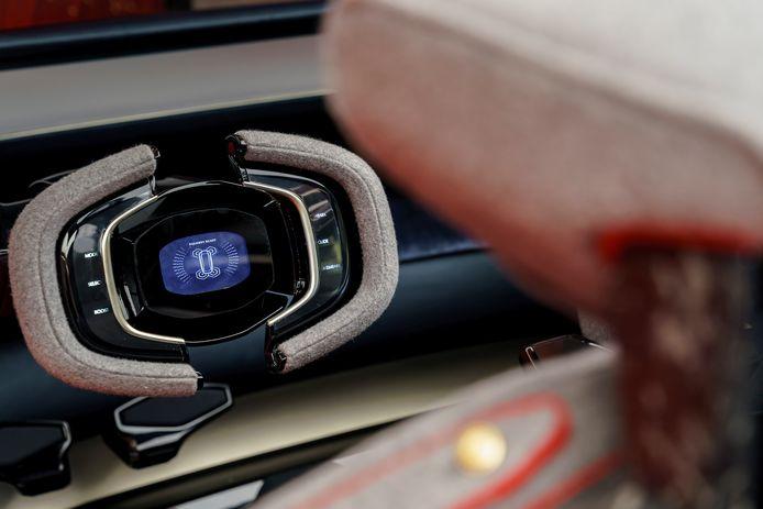 Zo ziet Aston Martin het stuur van de toekomst.
