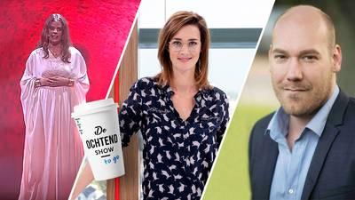 Zangeres Iva Marín Adrichem en experts over het coronavirus in de Ochtend Show to go