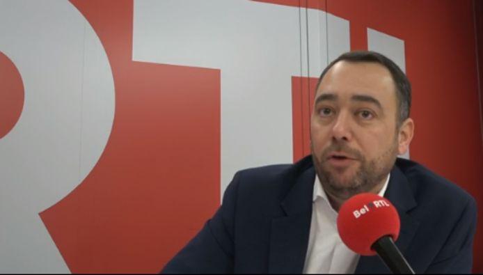 Maxime Prévot, président du cdH.