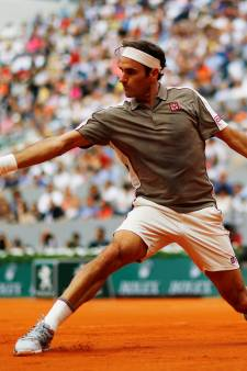 Federer geniet van warm welkom in Parijs: 'Zag meer voordelen dan nadelen'