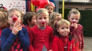 GBS Toverveld kleurt rood voor slotfeest Rode Neuzendag