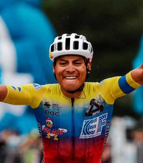 Giro: hécatombe chez les favoris, l'étape pour  Caicedo, le maillot rose pour Almeida
