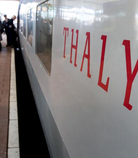 Thalys naar Amsterdam rijdt everzwijn aan