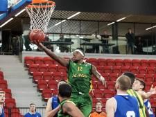 Basketballer Eric Kibi zit vast in Den Haag: Kwalificatieduels voor de Spelen gaan aan zijn neus voorbij