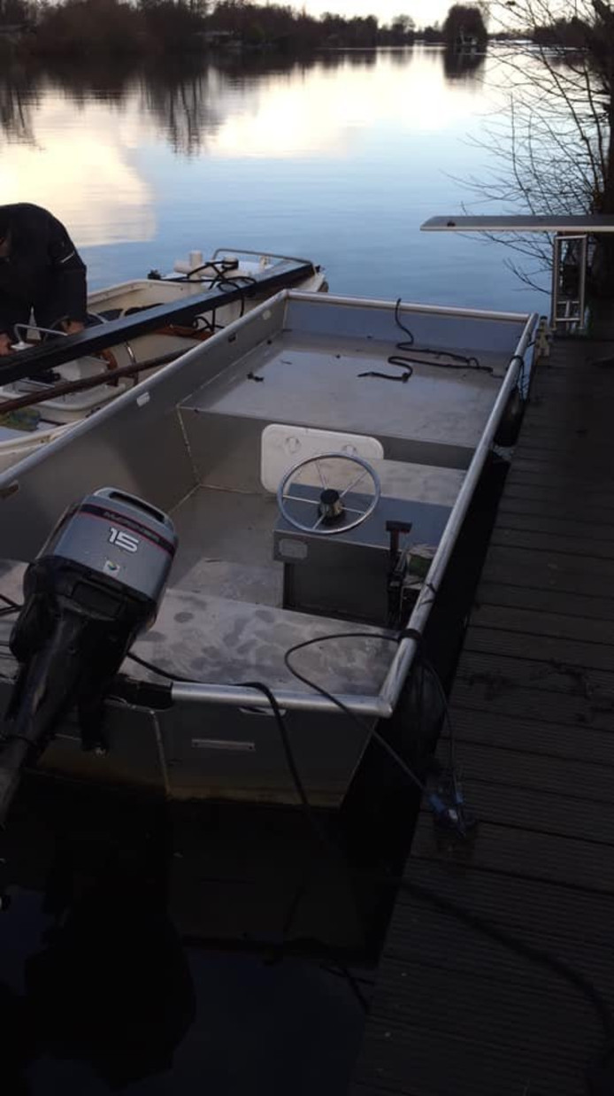 De gestolen boot