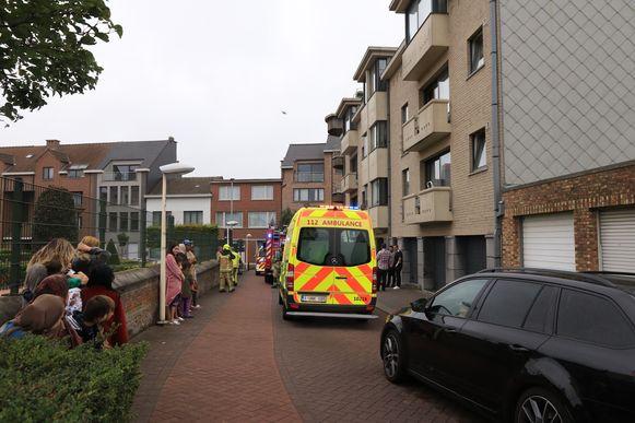De brandweer had de brandhaard snel onder controle.