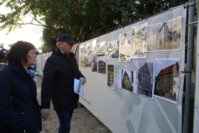In de namiddag kon je een tentoonstelling met oude foto's van de stad bezoeken