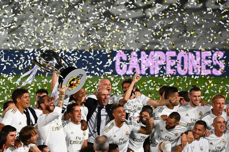 De lockdown pakte goed uit voor Real Madrid en werd uiteindelijk zelfs een kantelpunt. Beeld AFP