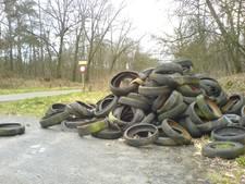 Gelders bos meer en meer dumpplek voor afval