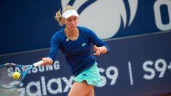 Elise Mertens stoot tussen regenvlagen door naar de kwartfinales in Lugano, ook Kirsten Flipkens naar kwartfinales
