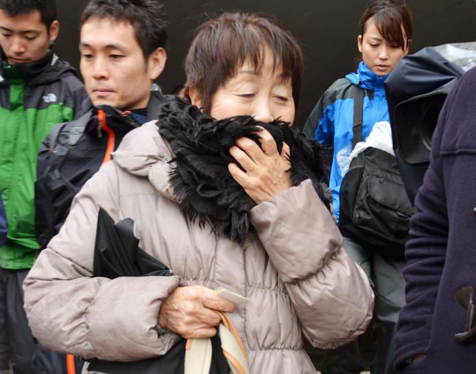 De 70-jarige Chisako Kakehi, beter bekend als de Zwarte Weduwe.