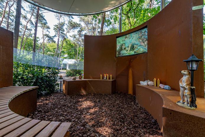 Crematorium Zoomstede in Bergen op Zoom heeft sinds mei een stiltemonument voor overleden kinderen.