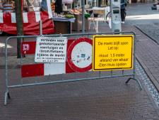 Extra coronamaatregelen Nijmeegse zaterdagmarkt: méér ruimte én geen vrachtwagens op Kelfkensbos