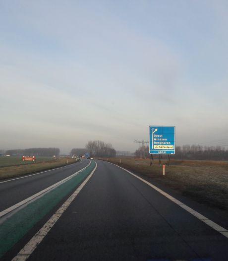 Omrijden in september en oktober: Maas en Waalweg dicht in vier weekends