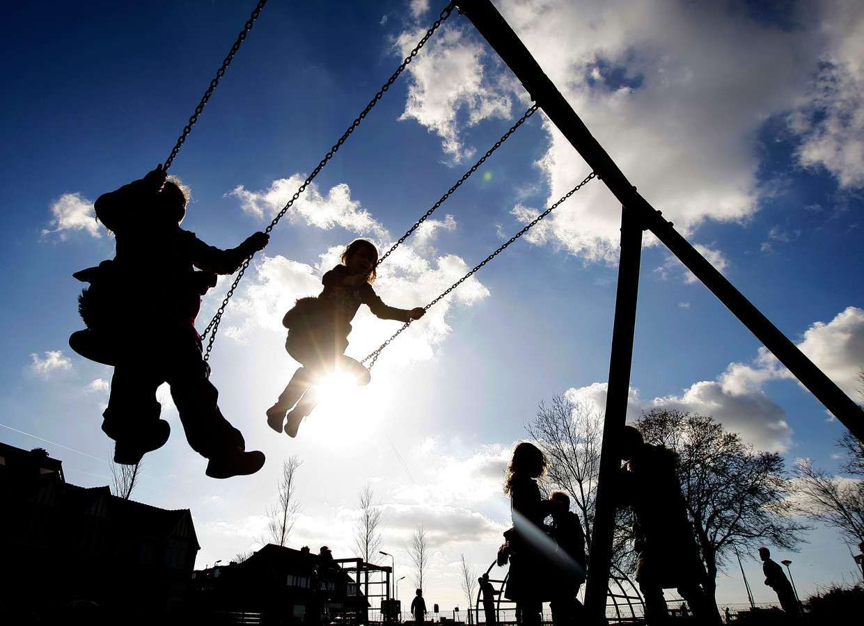 Vijftien procent van de kinderen speelt nooit buiten.