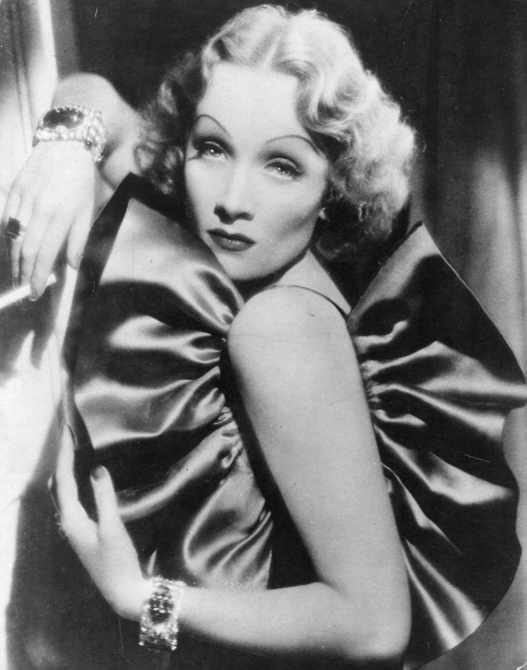 Marlene Dietrich. Beeld Getty Images