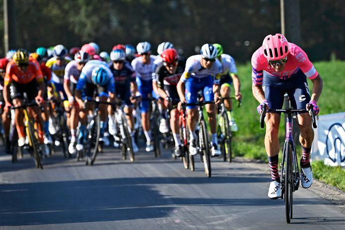 Sep Vanmarcke reed in Anzegem voor eigen volk.