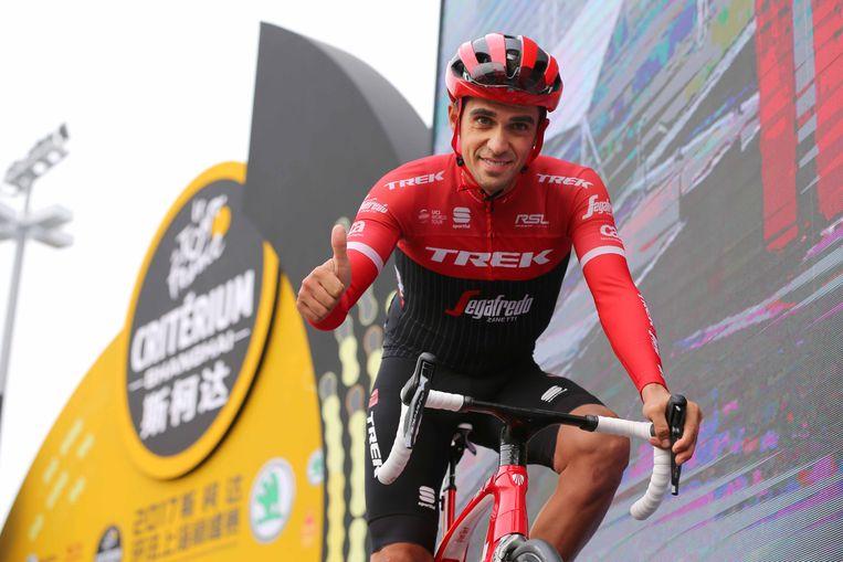 Alberto Contador in Shanghai.