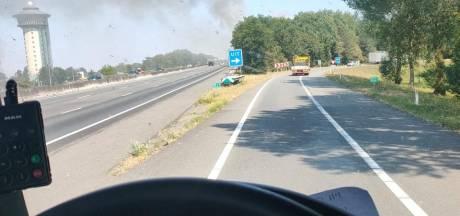 Zeer grote brand in restaurant de Lichtmis in Rouveen