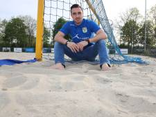 Opeens is beachsoccer-keeper De Graaf international