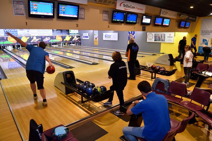 Een bowlingbaan in De Korf in Leusden.