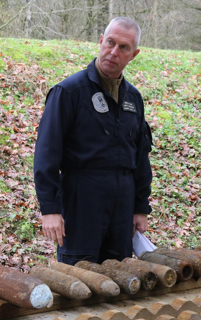 Adjudant-majoor Daan Verfaillie.