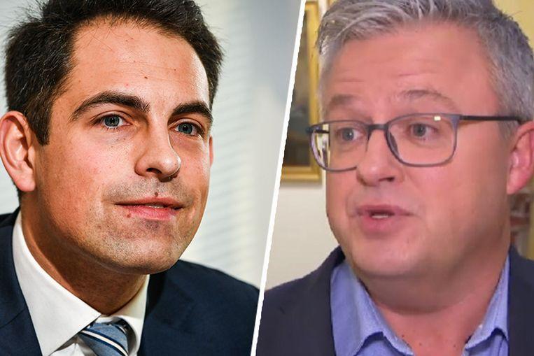 Tom Van Grieken en Carl Devos.