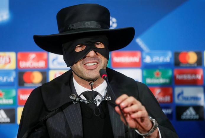 Paulo Fonseca, alias Zorro.