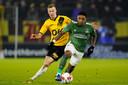 Steven Bergwijn afgelopen week in actie in de verloren bekerwedstrijd tegen NAC Breda.