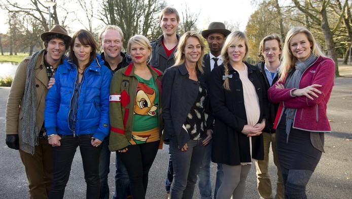 De kandidaten van Wie is de Mol? 2012.