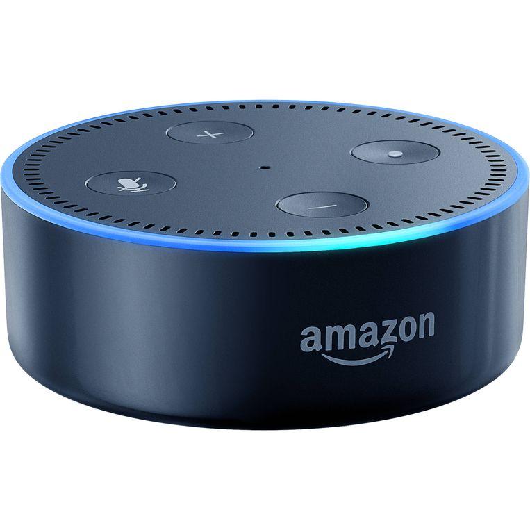 De Echo Dot, Amazons toegang tot het Alexa-systeem.