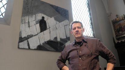 Jan De Wachter stelt tentoon