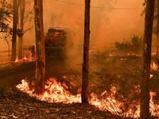 Bijna honderd branden leggen Sydney onder dikke laag rook