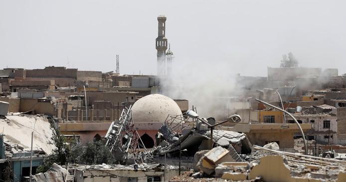 De Oude Stad in Mosul.
