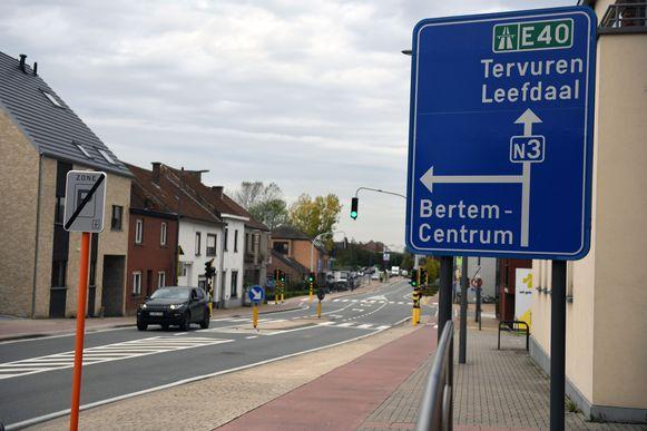 De Tervuursesteenweg in Bertem krijgt onder meer een nieuw wegdek.