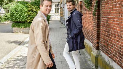 """""""Als er op mijn huwelijk iemand in jeans zou komen aandraven, zou ik beledigd zijn"""", Jani Kazaltzis en Gilles Van Bouwel nu in NINA"""