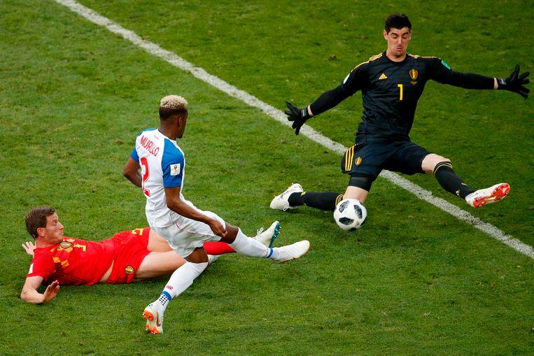Murillo miste op het WK in Rusland een goede kans tegen de Rode Duivels.