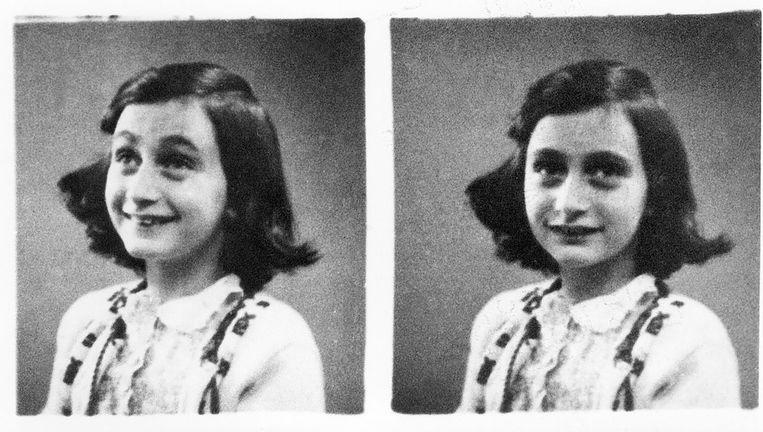 Anne Frank in 1942. Beeld afp