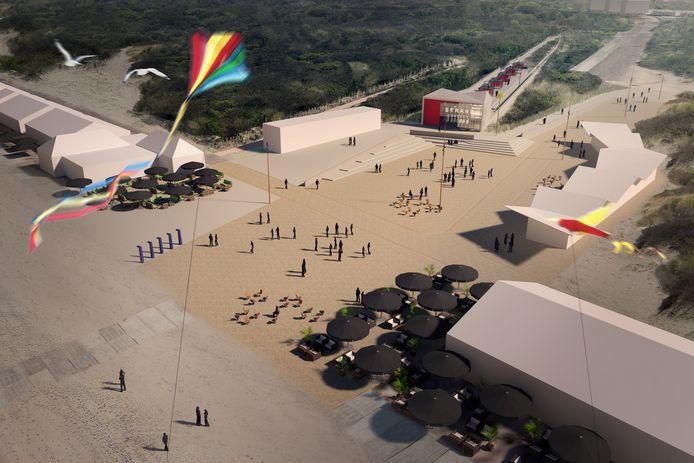 Nieuwe metro stopt praktisch op het Hoekse strand
