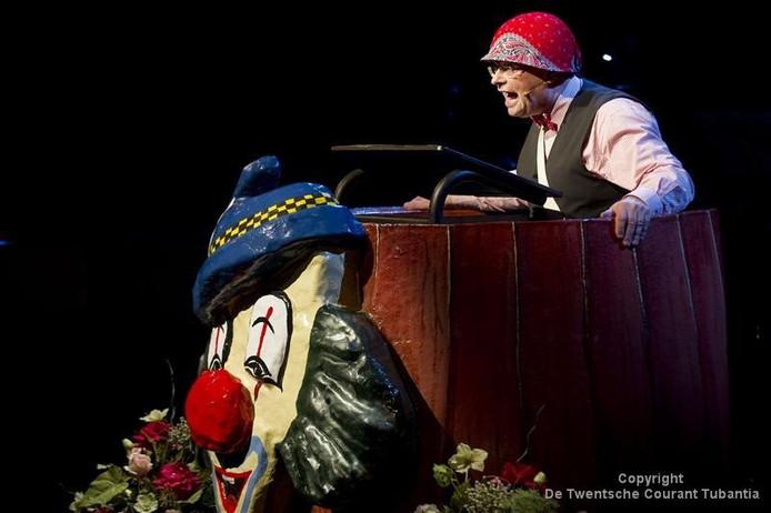 Karel van de Kate doet dit jaar weer mee aan het Twentse Buutfestival.